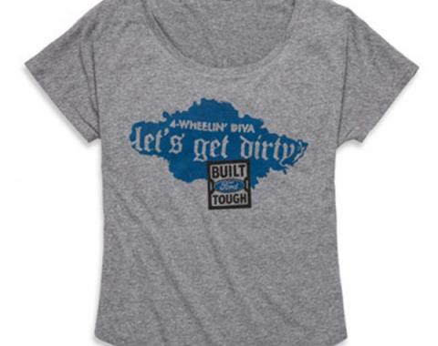 Ladies' BFT Tri-Blend Dolman Shirt