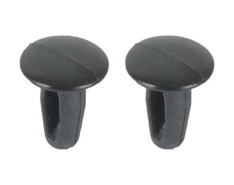 Ford Mustang Door Seal Plug Set - 2 Pieces - For Door Weatherstrip Ends