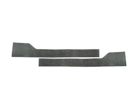 Ford Pickup Truck Front Fender Apron To Firewall Lower Seals