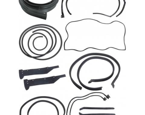 68 Galaxie Weatherstrip Kit (Fastback)