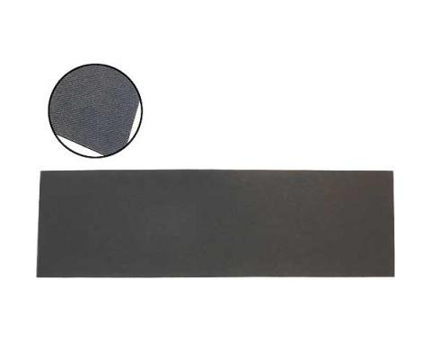 Ford Mustang Package Tray - Black Textured Masonite - Fastback