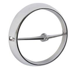 Ford Mustang Fog Light Housing Rim - Chrome Plated - Exact Fit - Reproduction