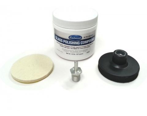 Windshield/Glass Polishing Kit