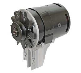 PowerGen - 12 Volt Negative Ground - 5/8 Pulley - Black Powder-Coated - Ford & Mercury Flathead V8