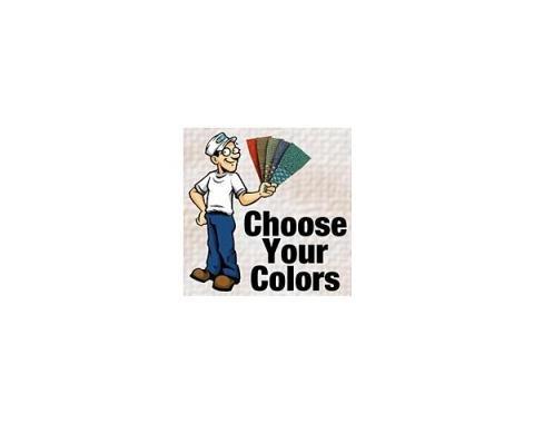 Closed Car Headliner Kit - Ford Fordor Sedan - Choose Your Color