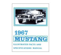 Mustang Illustrated Facts And Specifications Manual - 30 Pages
