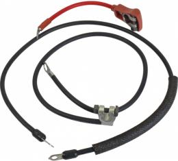 Ford Mustang Battery Cable Set - Reproduction - All V-8 Engines