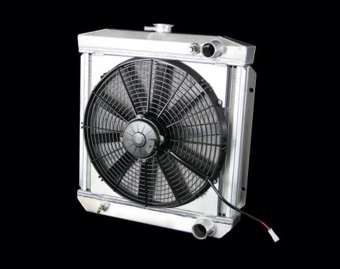 DeWitts 1967 Ford Mustang Radiator Fan Combo, Manual 32-4138004M