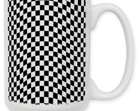 Checkered Coffee Mug