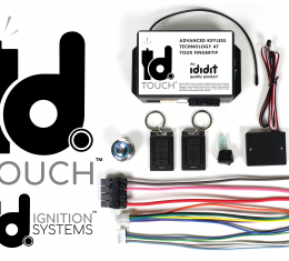 ididit IDIDIT TOUCH N GO Keyless Start Ignition System 2600670100