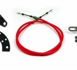 """ididit Cable Shift Linkage, - Chrysler 2"""" Column - 727 & 904 Trans 2801750010"""