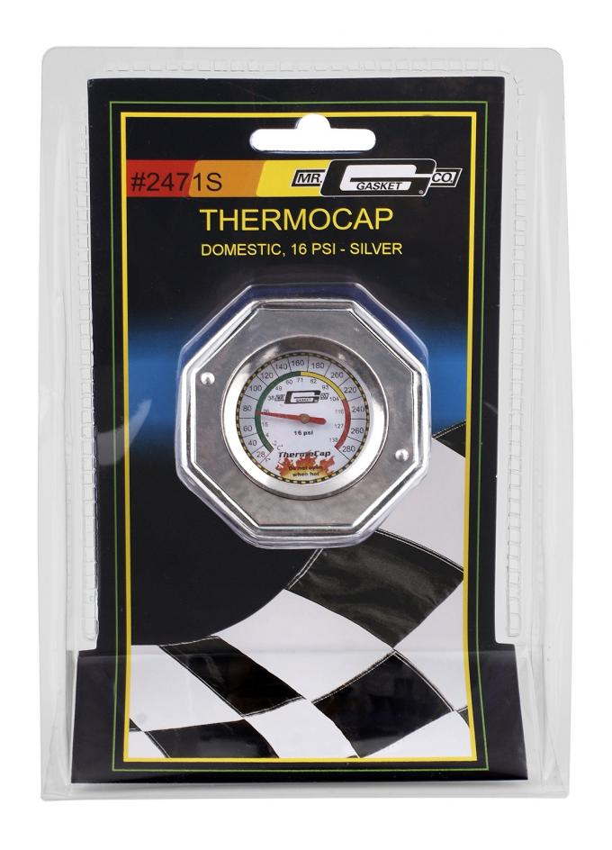 Mr. Gasket Thermocap™ Radiator Cap 2471S