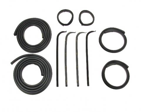 Precision Door Weatherstrip Seal Kit, Glassruns, Beltlines and Door Seals. Left and Right, 10 Piece Kit DK 2110 67