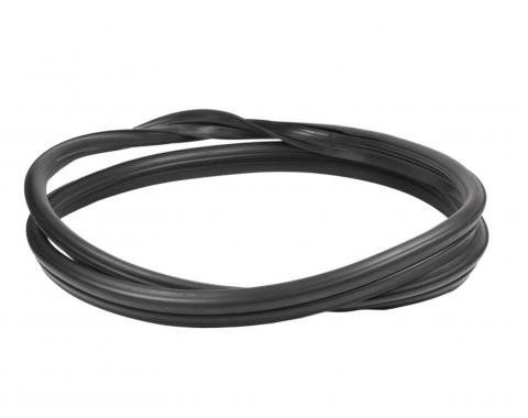 Precision Ford Thunderbird 1955-1957  Rear Window Weatherstrip Seal, With Trim Groove WCR DB375
