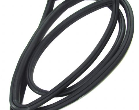 Precision 2Dr Hardtop Models-Rear Window Weatherstrip Seal, With Trim Groove for Steel Trim WCR DB3198