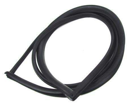 Precision 4Dr Sedan Models-Rear Window Weatherstrip Seal, Works With Chrome Trim That Inserts into Body Clips WCR DB3529