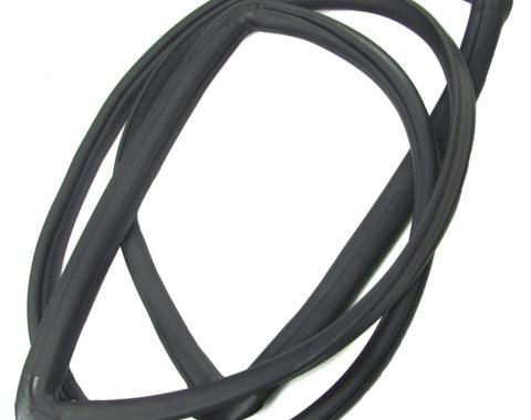 Precision 2Dr Hardtop/Convertible Models-Windshield Weatherstrip Seal With Trim Groove for Steel Trim WCR 635 D
