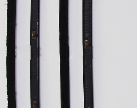 Precision Beltline Molding Kit, Black, Left and Right Hand, 4 Piece Kit WFK 2110 67