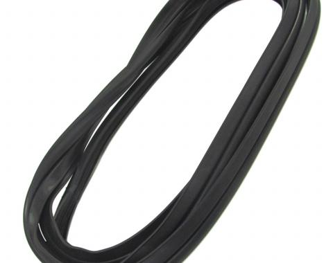 Precision Windshield Weatherstrip Seal With Trim Groove for Steel Trim WCR 602