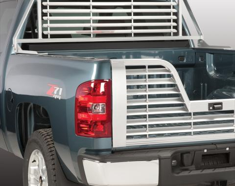 Husky 22160 - Silver Truck Cab Protector / Headache Rack