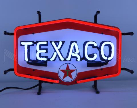 Neonetics Junior Size Neon Signs, Texaco Hexagon Junior Neon Sign