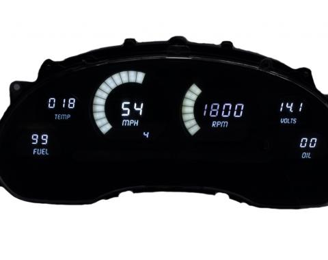 Intellitronix 1994-2004 Ford Mustang LED Digital Gauge Panel DP7009