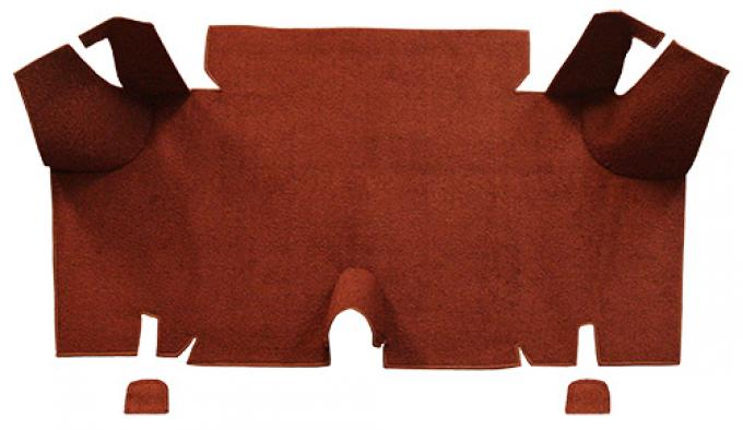 ACC  Ford Mustang Fastback Trunk Kit Floor Only Trunk Mat Nylon, 1965-1966