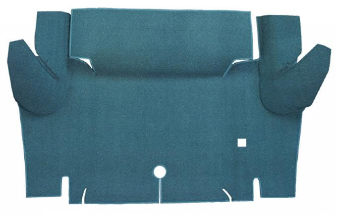 ACC  Ford Mustang Convertible Trunk Kit Floor Only Trunk Mat Loop, 1965-1966