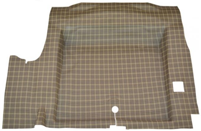 ACC  Ford Mustang Coupe/Convertible Molded Trunk Mat TM Vinyl, 1964-1968