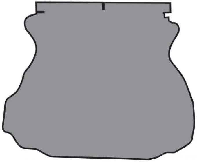 ACC  Ford Mustang Coupe Trunk Mat TM Felt, 1994-2004