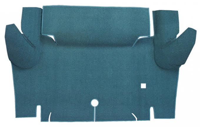 ACC  Ford Mustang Coupe Trunk Kit Floor Only Trunk Mat Loop, 1965-1966