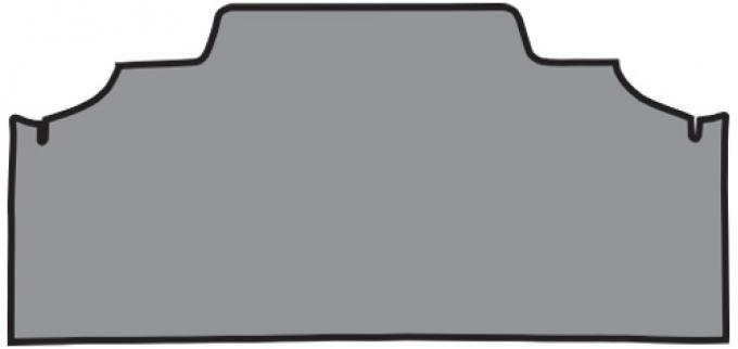 ACC  Mercury Montego GT Trunk Mat Fleece, 1972-1973