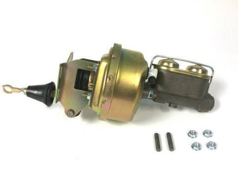 Mustang Power Brake Conversion (Drum Brakes, Auto Trans), 1967-1970