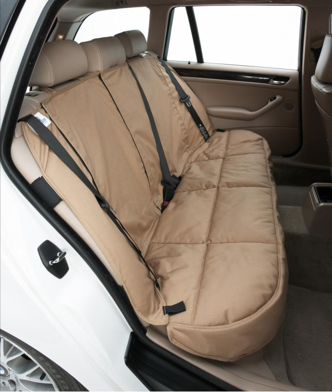 Covercraft 2020 Ford Escape Canine Covers Custom Rear Seat Protector, Polycotton Misty Gray DCC4838CT