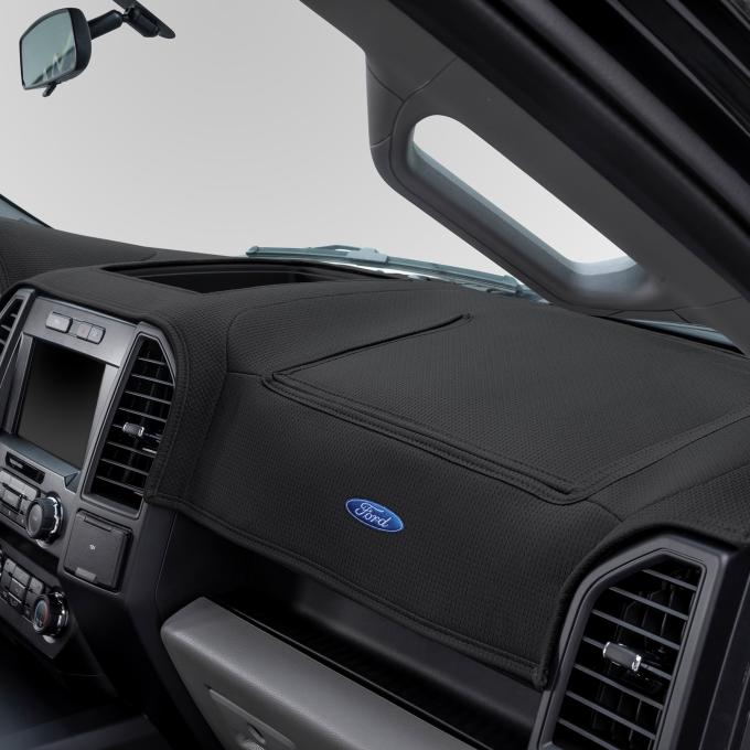 Covercraft 2009-2014 Ford F-150 Ford Official Licensed Limited Edition Custom DashMat, Smoke 61843DF24-00-76