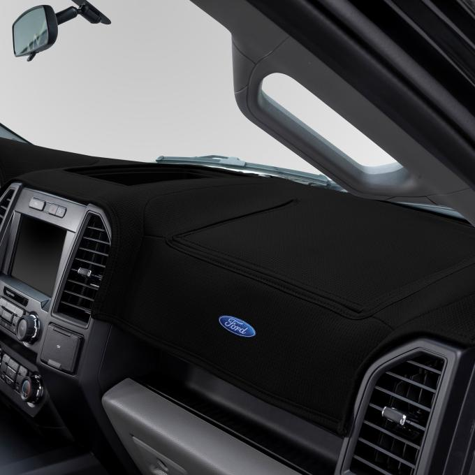 Covercraft Ford Official Licensed Limited Edition Custom DashMat, Black 61772DF24-01-25