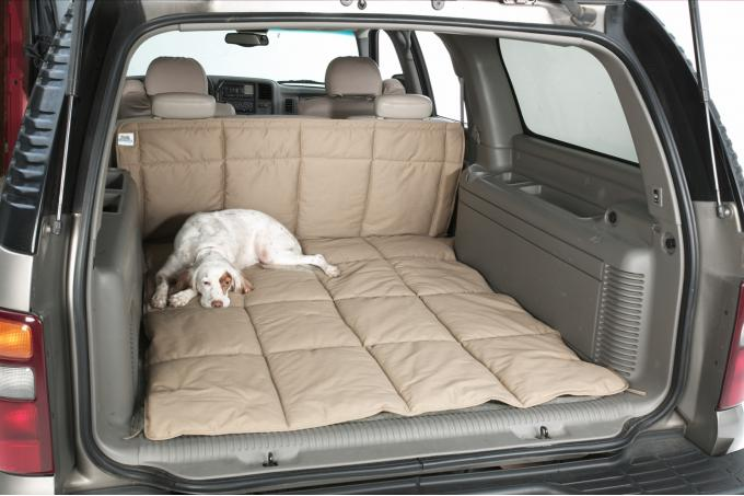 Covercraft 2020 Ford Escape Canine Covers Cargo Area Liner, Polycotton Charcoal DCL6472CH