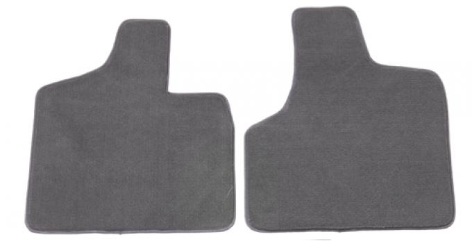 Covercraft Premier Plush Custom Fit Floormat, 4pc set, 2 front/1 mid/1 rear, Smoke 762182-76
