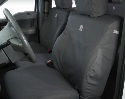 Covercraft 2015-2018 Ford F-150 Carhartt SeatSaver Custom Seat Cover, Gravel SSC3443CAGY