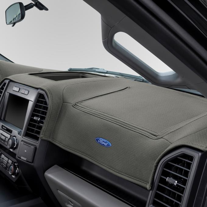Covercraft Ford Official Licensed Limited Edition Custom DashMat, Grey 62012DF24-00-47