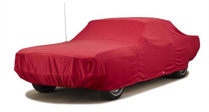Covercraft 2017-2019 Ford F-150 Custom Fit Car Covers, Fleeced Satin Red FS18101F3