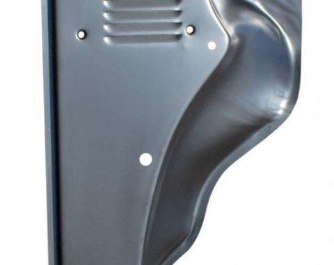 AMD Cowl Repair Panel, Front Outer Side with Louver- RH, 53-56 F100 F250 376-4553-3R