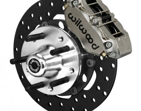 Wilwood Brakes Dynapro Lug Mount Front Dynamic Drag Brake Kit 140-14420-DN
