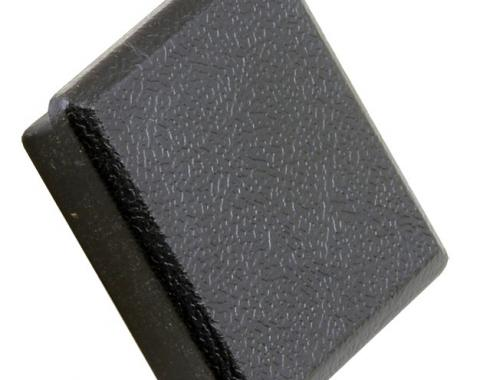 Daniel Carpenter Mustang Power Mirror Switch Delete Cover Black For Power Mirrors, 1987-1993 E8ZZ-17676-B