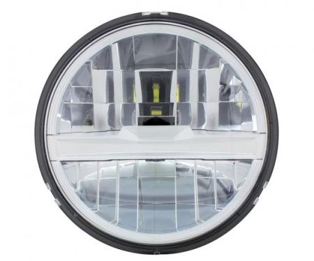 """United Pacific 8 High Power LED 5-3/4"""" Headlight - Silver 31201"""