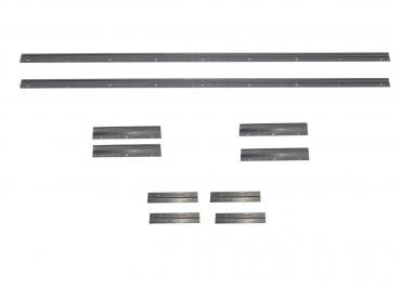 Ford Mustang Ground Effects Bracket 10 Piece Set, 1987-1993