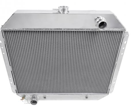 Champion Cooling 3 Row All Aluminum Radiator Made With Aircraft Grade Aluminum CC433B-BLK