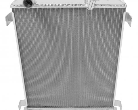 "Champion Cooling 2 Row with 1"" Tubes All Aluminum Radiator Made With Aircraft Grade Aluminum AE3132"