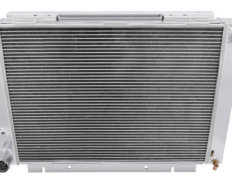 Champion Cooling 1960-1963 Ford Galaxie 4 Row All Aluminum Radiator Made With Aircraft Grade Aluminum MC6063