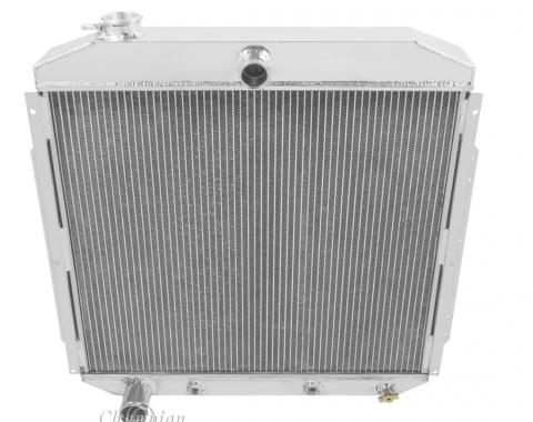 Champion Cooling 2 Row All Aluminum Radiator Made With Aircraft Grade Aluminum EC5356